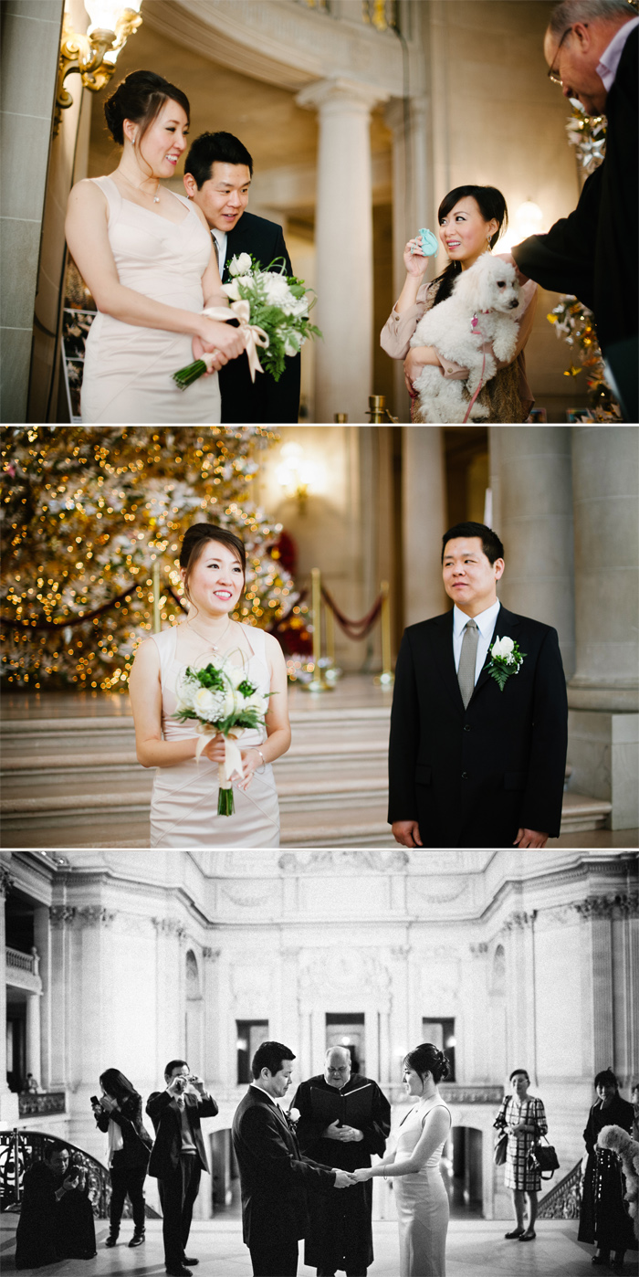 San Francisco City Hall wedding by Annie Hall Photography
