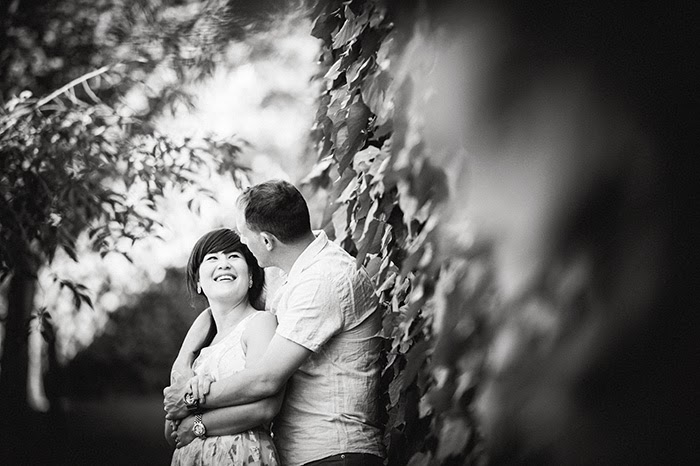 San Jose Japanese Friendship Garden engagement