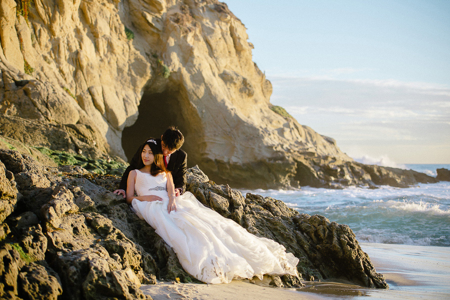 Thousand Steps Beach bridal portraits 05.jpg
