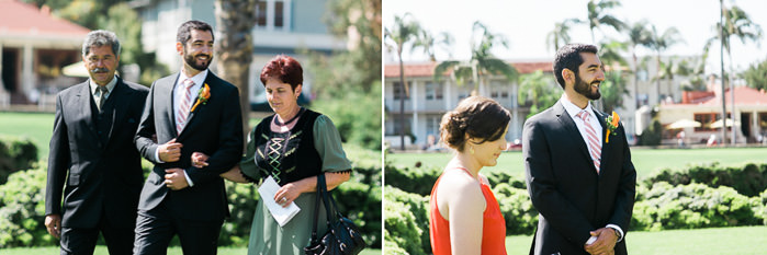 Santa Barbara Courthouse Sunken Gardens wedding