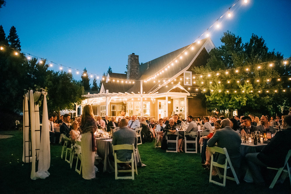 White Arbor Weddings in Elk Grove Reception