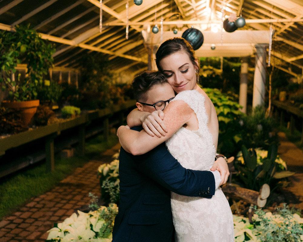 Same Sex Buffalo Botanical Garden Wedding 077.jpg