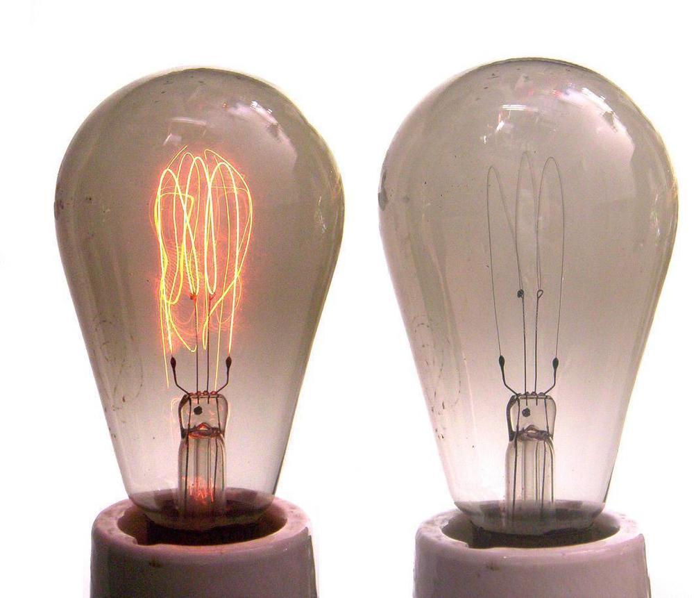 vintage style edison bulbs sourced salvaged