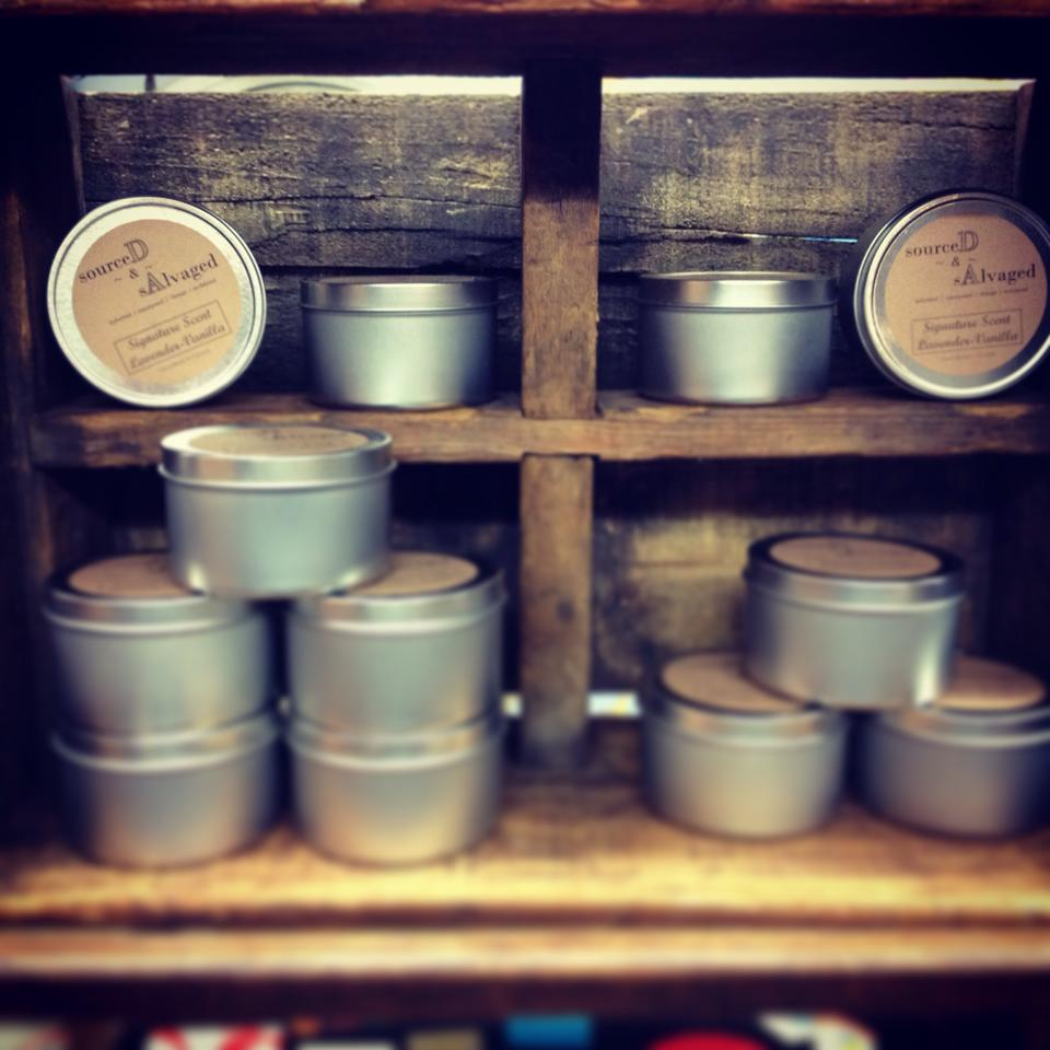 Tin Travel Candles - $20.00