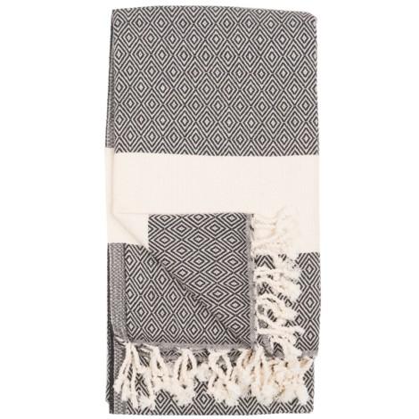 Body Towel - Diamond - Carbon