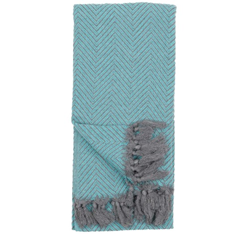 Large Fishbone - Teal - $40