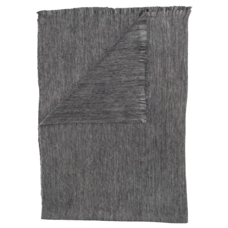 Alpaca Throw - Fringed Dusk -  $75