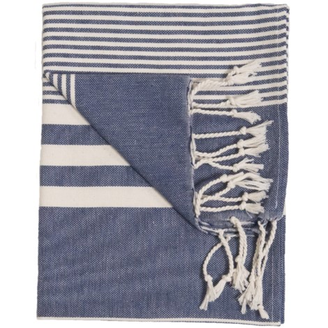 Hand Towel - Harem - Denim - $20