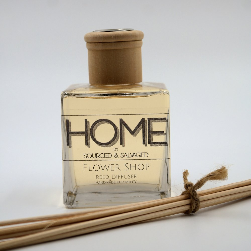 Reed Diffuser - Flower Shop - $25