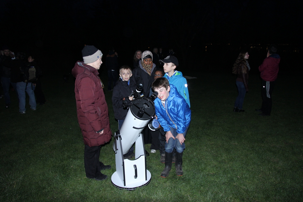 At the last Riverwood Astronomy evening on May 6, there were 12 telescopes set up.