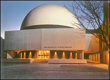 THe McLaughlin Planetarium was open between 1968 and 1995.