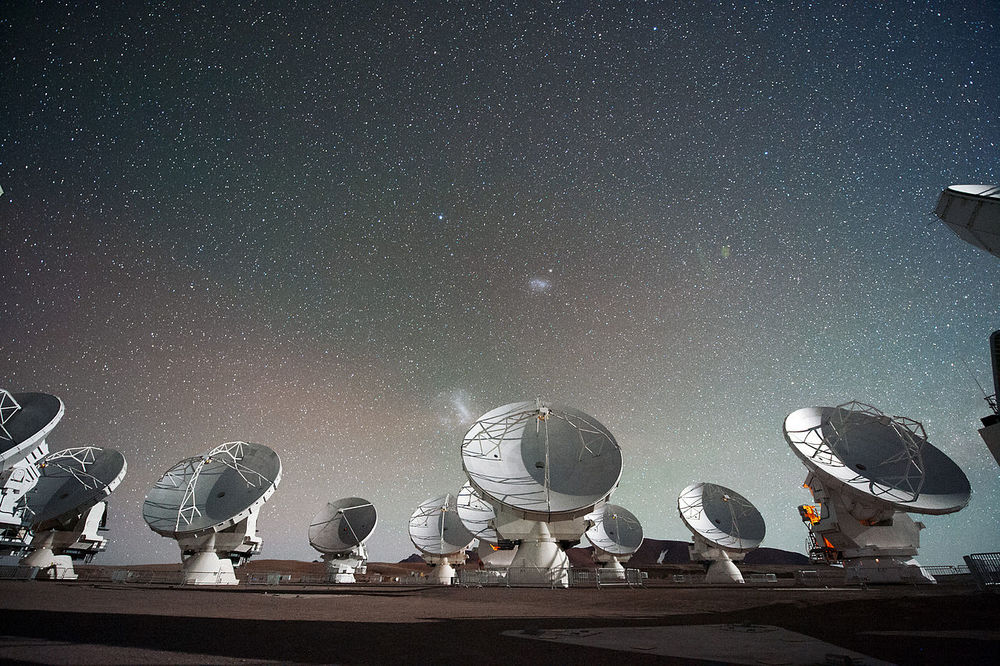 The Atacam Large Millimetre Array in Chile.