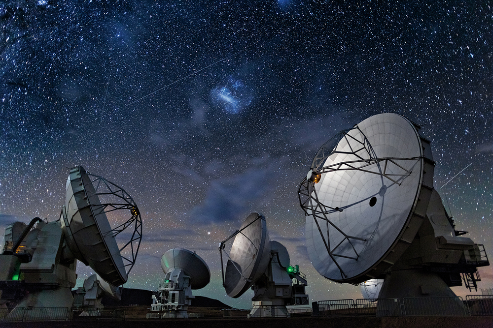 Atacama Sub-millimetre array courtesy National Geographic