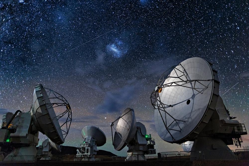 Atacama Sub-millimetre array courtesy National Geographic