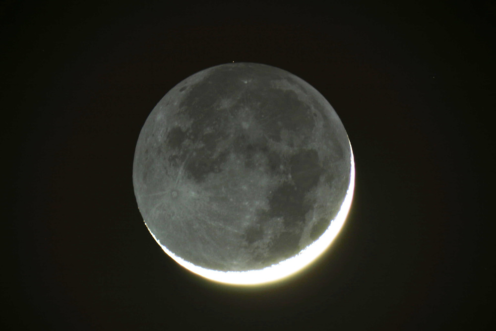 The Moon will be visible at Riverwood this week.