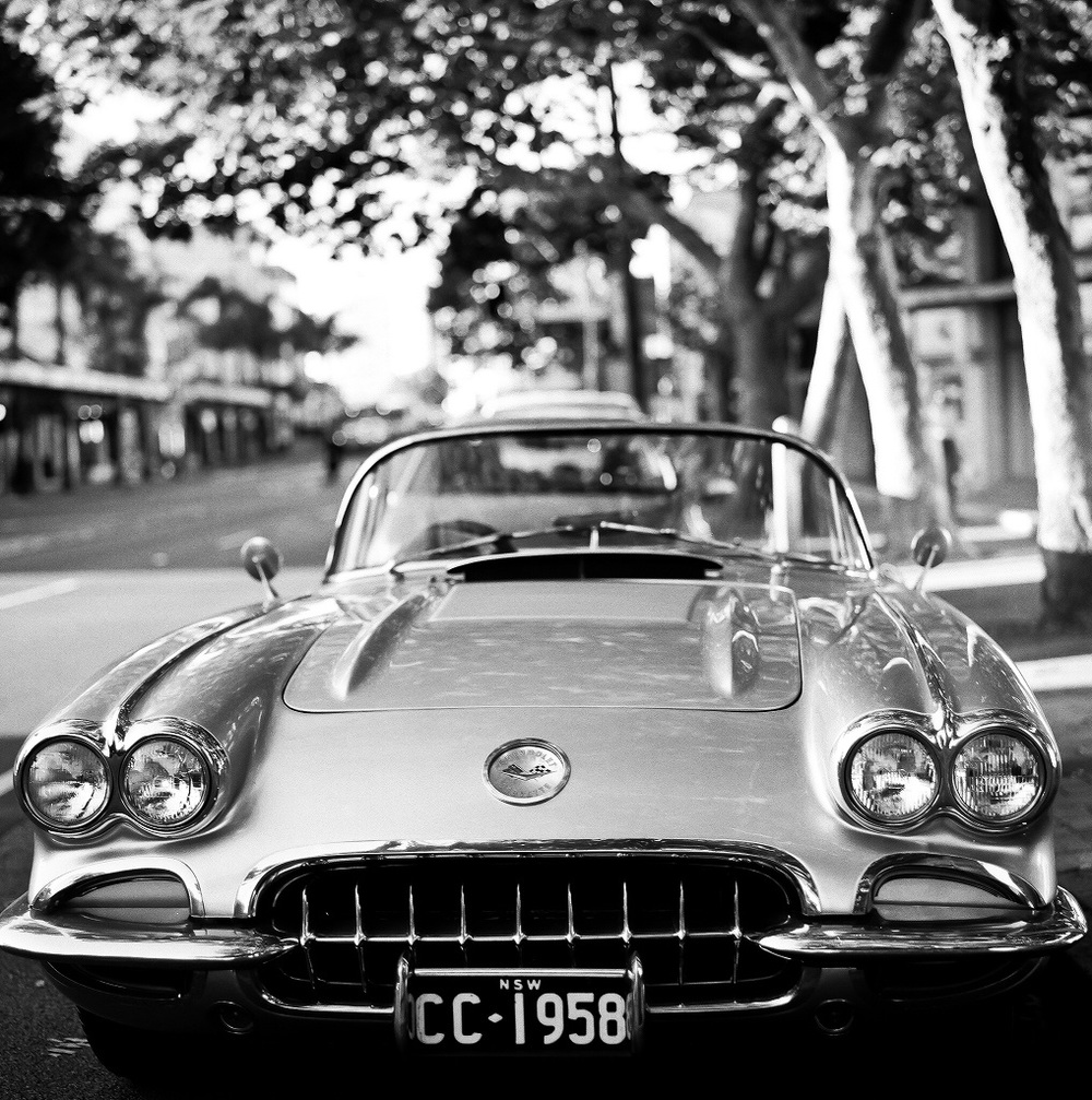 """1958 Chevrolet-Corvette"" - Delta HP5+"
