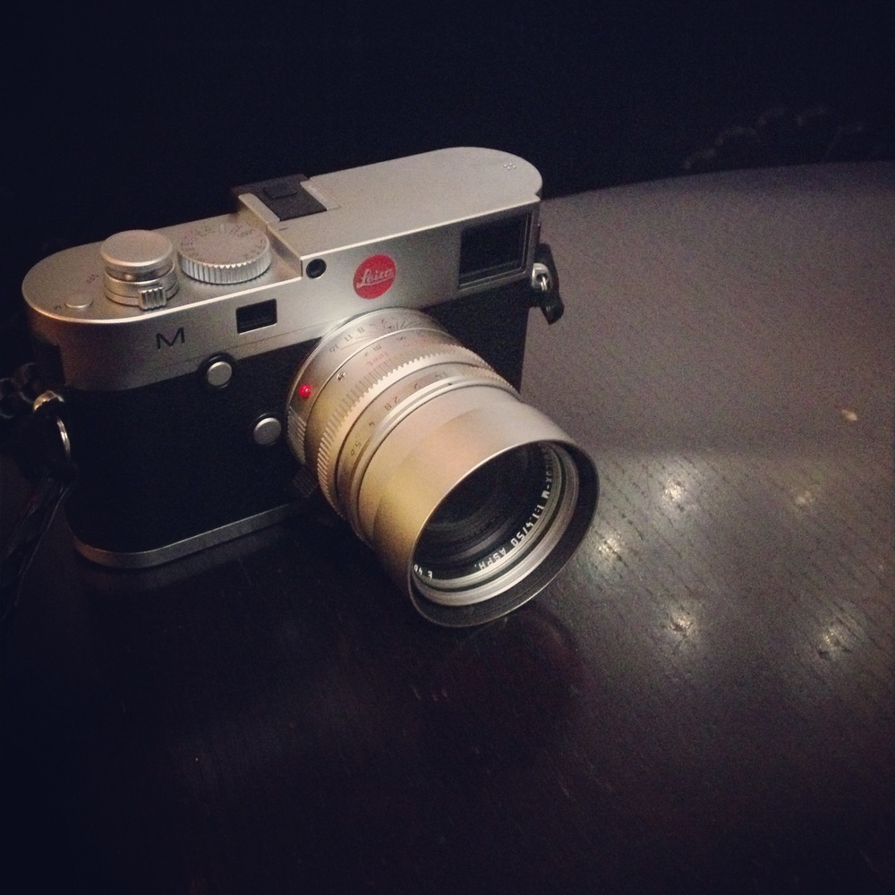 Leica M240 & 50 Lux ASPH Chrome Set