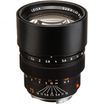 Leica 75mm F1.25 Noctilux ASPH M       Lens Review