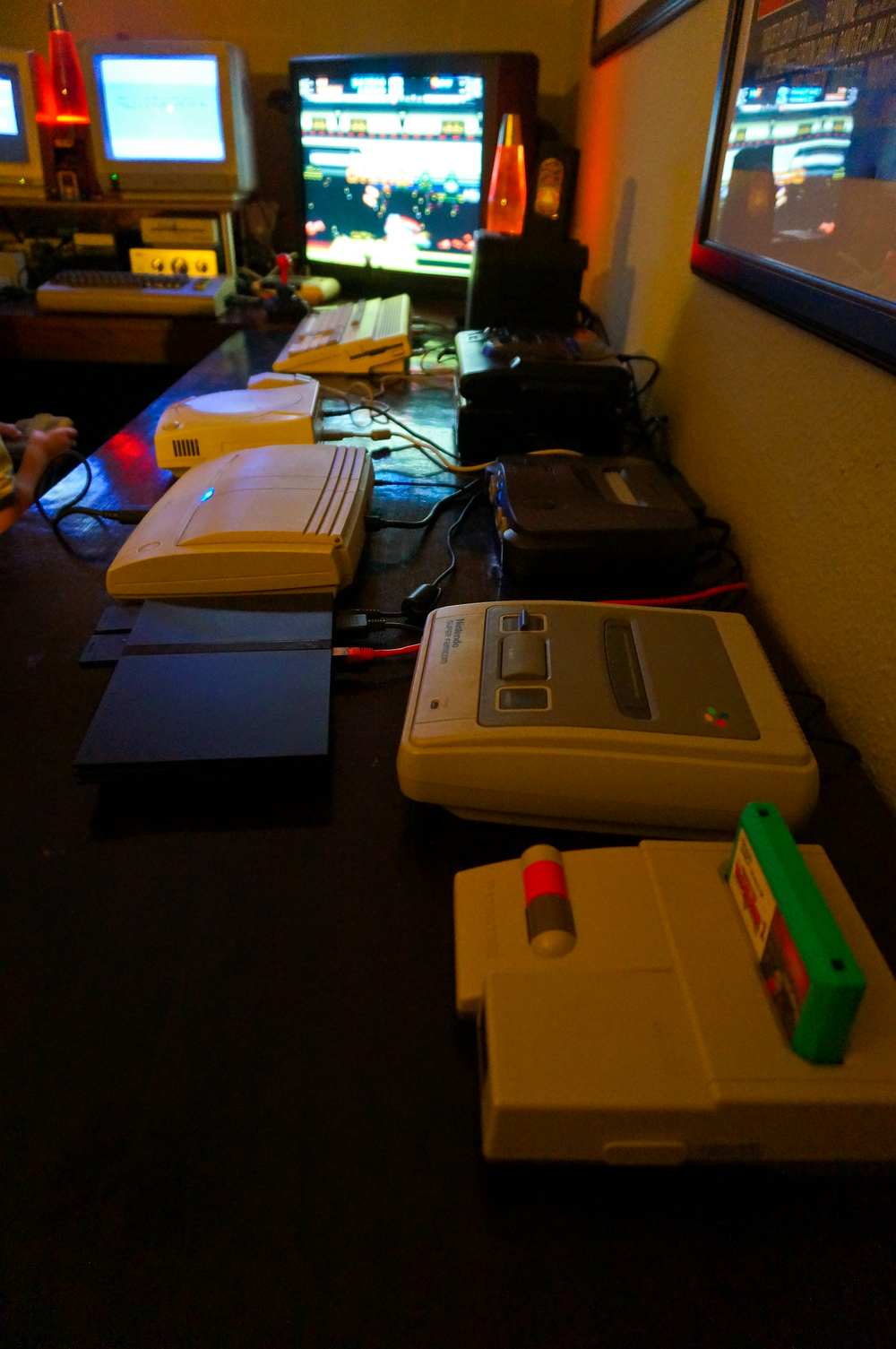 Lots of Consoles from the past