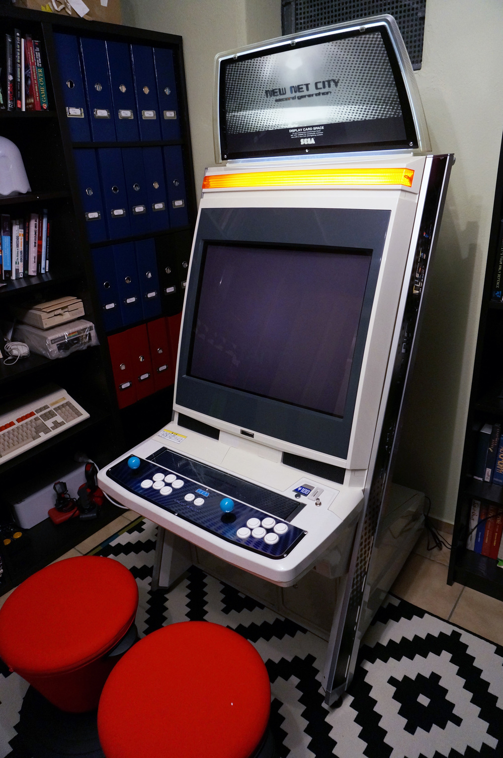 Sega New Net City Cabinet