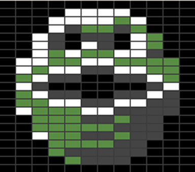 The popular Sprite Mode is the Multicolor Sprite - here used in the game Wizball.