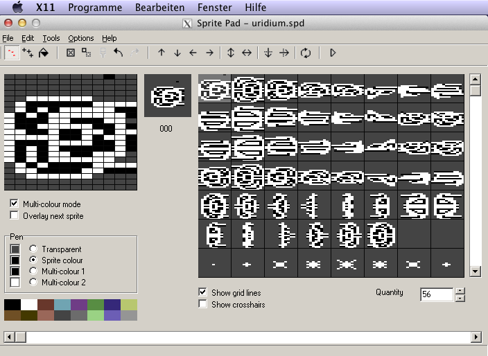 SpritePad is an excellent Win32-based editor to draw and animate Sprites for the C64.