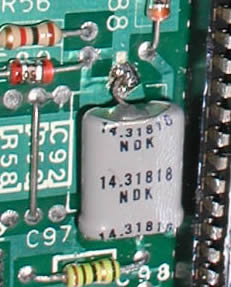 The Y1 Crystal on NTSC Machines
