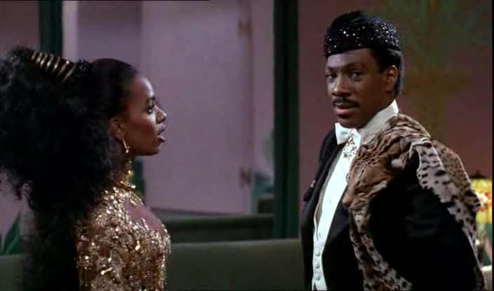 "A reference to ""Coming to America"""