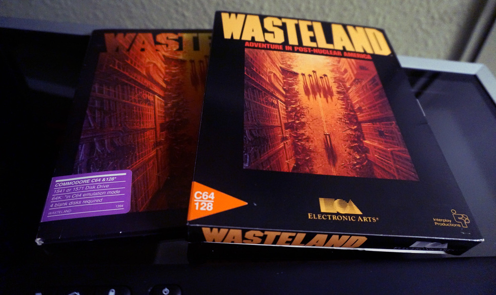 My original copies of Wasteland on C64