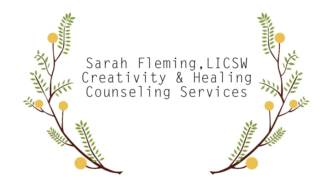 Sarah Fleming, LICSW, LISW, Creativity and Healing