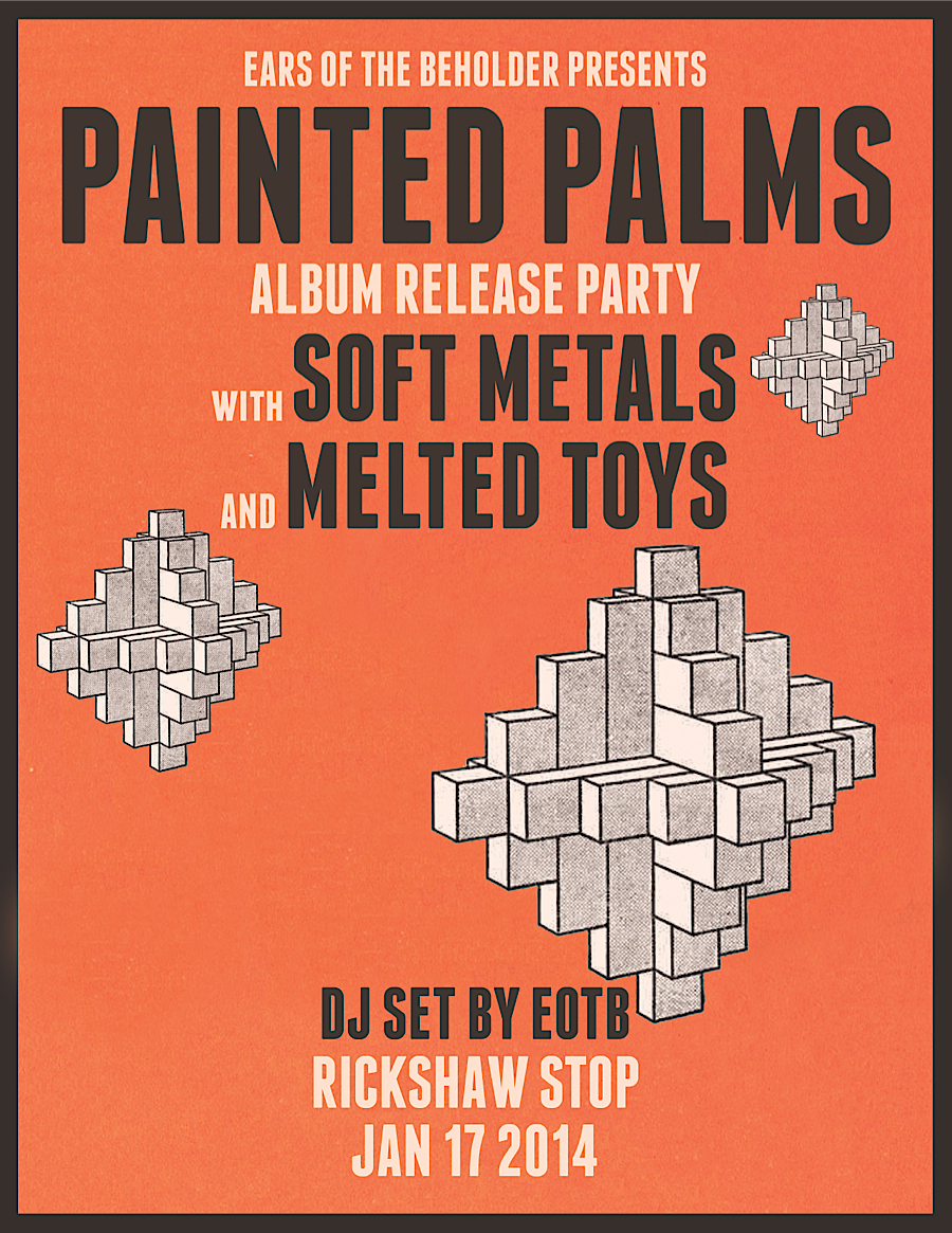 I wish I were in SF this weekend to see paintedpalms    tix here:  http://ticketf.ly/JcTm5K