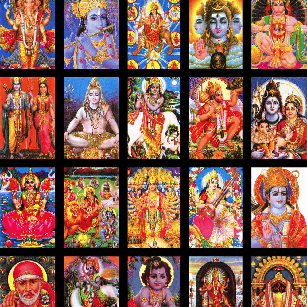 Hindu gods and gurus