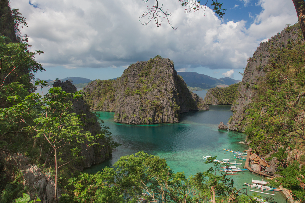 Coron Island, Northern Palawan in the Philippines. The ancestral domain of the Tagbanua people. Currently the Tagbanua of Coron Island have ancestral claim not only on the territory of Coron Island but also in the surrounding waters, rich in biodiversity.