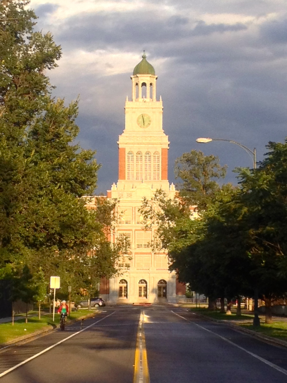East High School near City Park