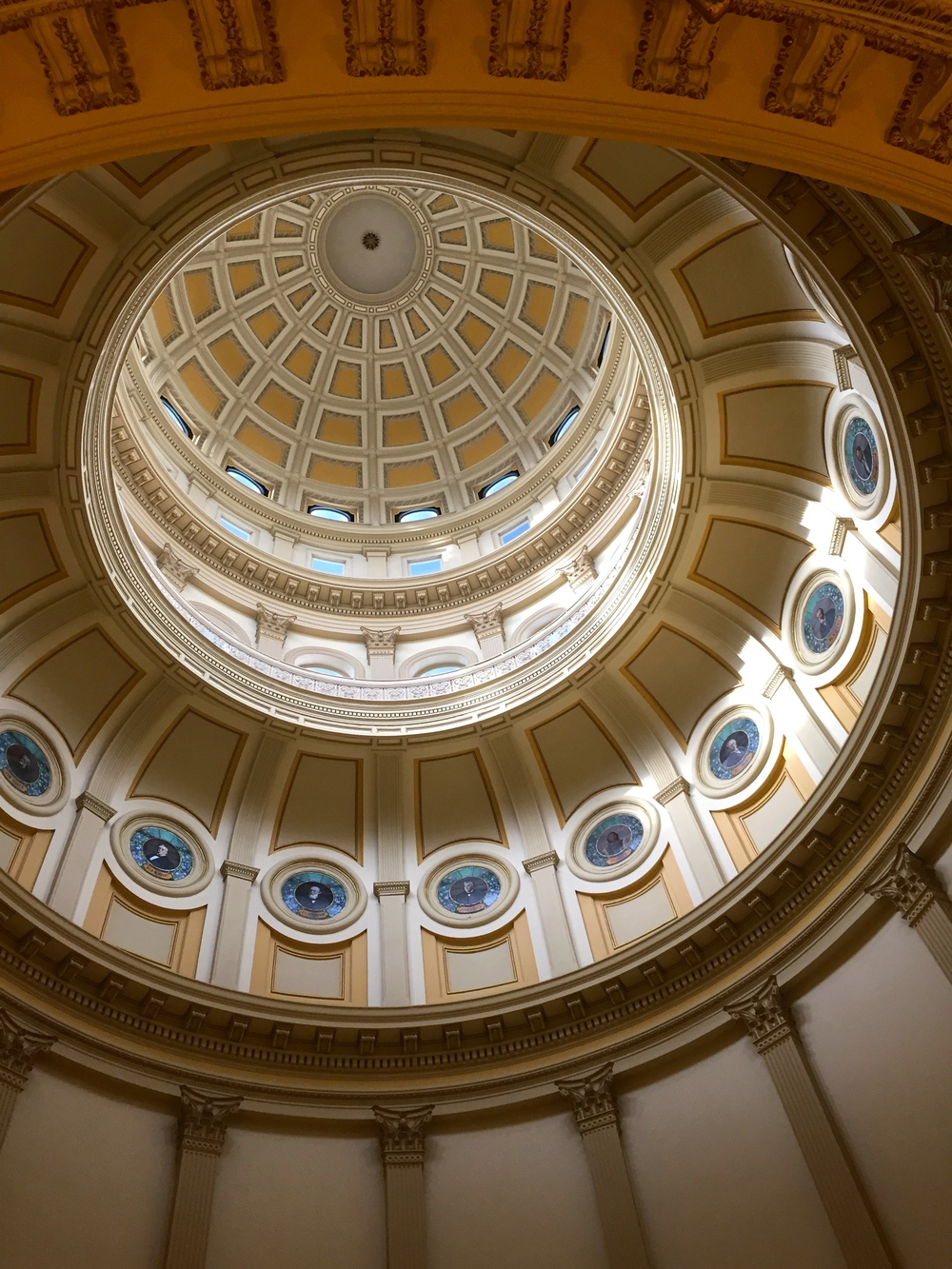 The layers of the Rotunda