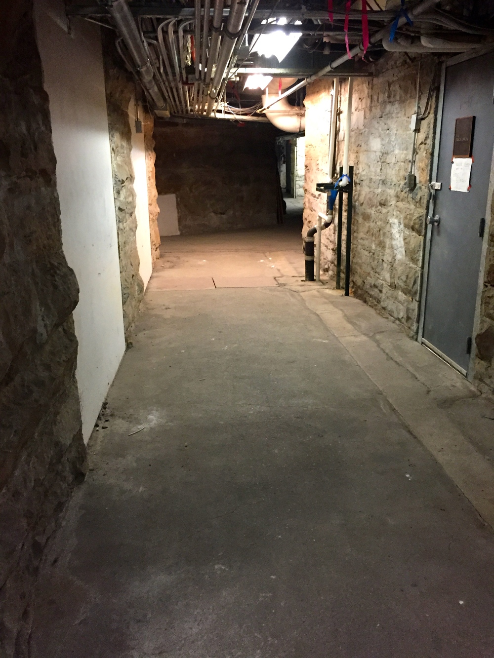 The sub-basement