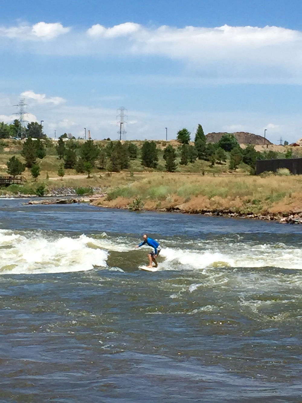 No-coast surfing at the Union Chutes; Denver has it all