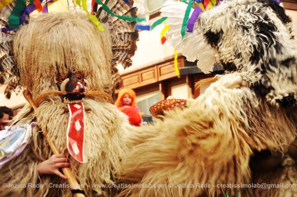 (Slovene traditional mask 'kurent')