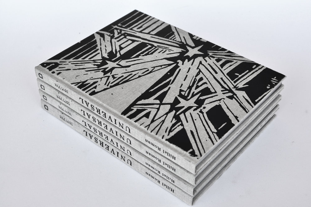 UNIVERSAL artist book - Published and sold by Sternthal Press[ click to buy]