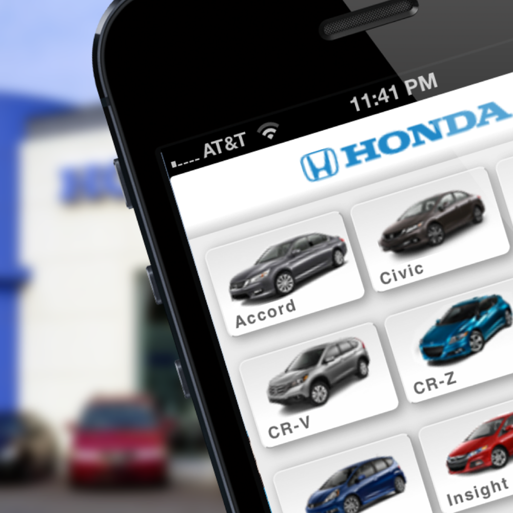 Honda Automobiles Mobile Site
