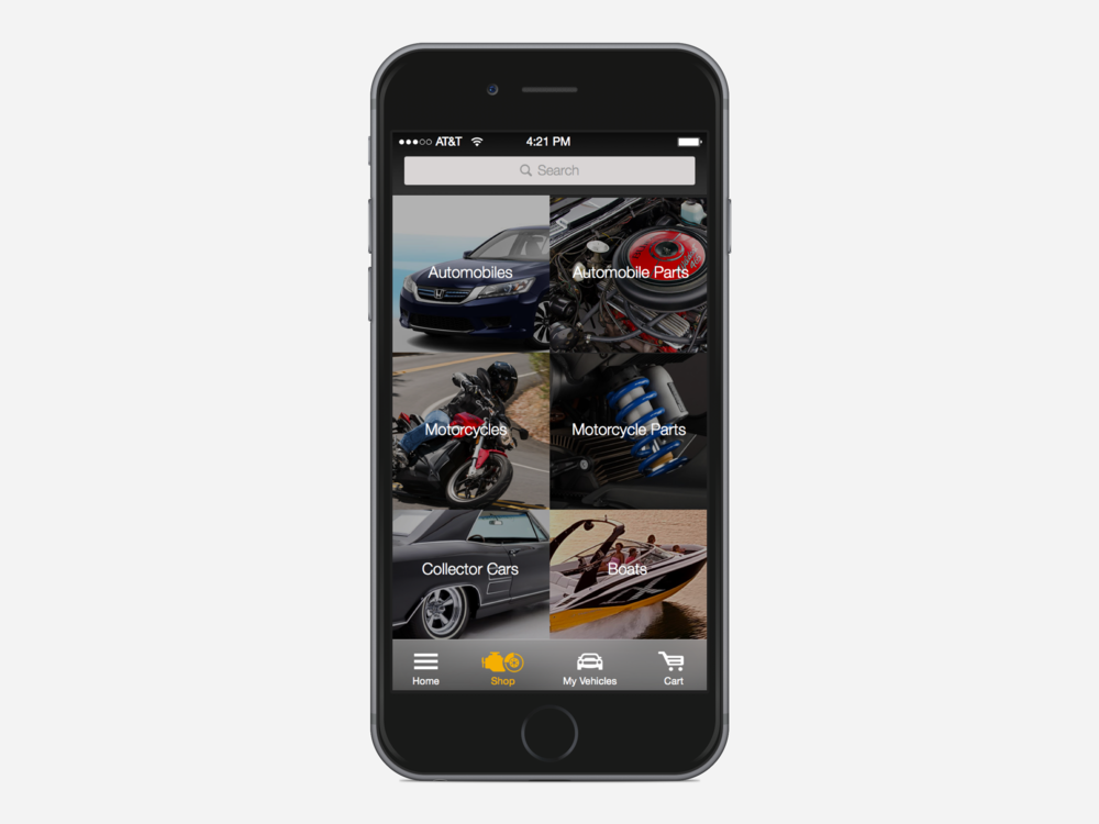eBay Motors 2.0 — Alex Yra