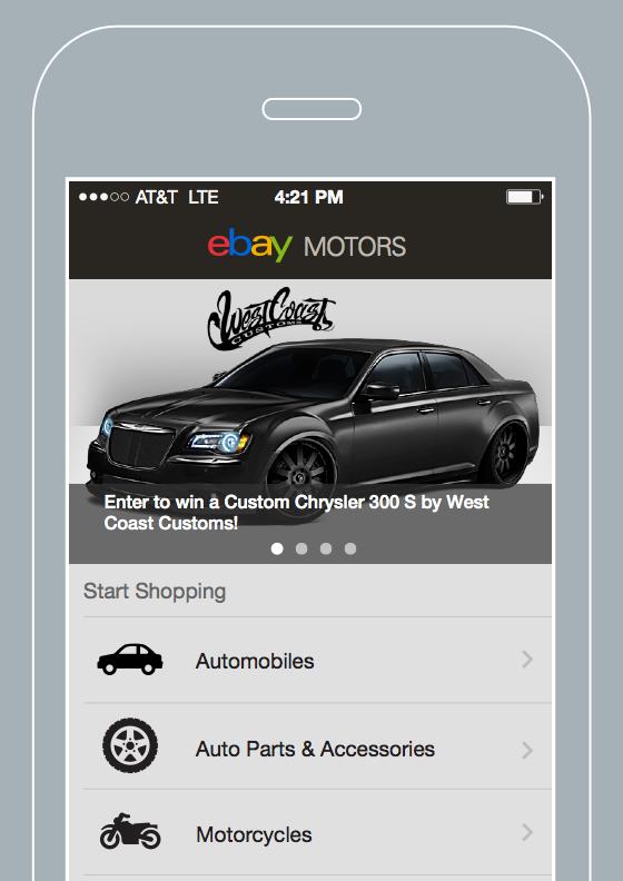 eBay Motors App 4.0
