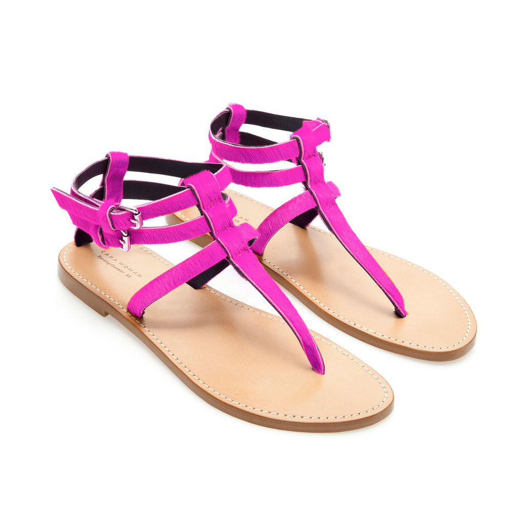 Leather Thong Sandals , orig. $79.90, now $49.99
