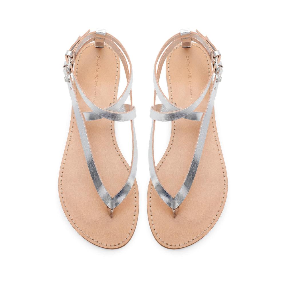 Basic Metallic Tone Sandal, orig. $35.90, now $25.99