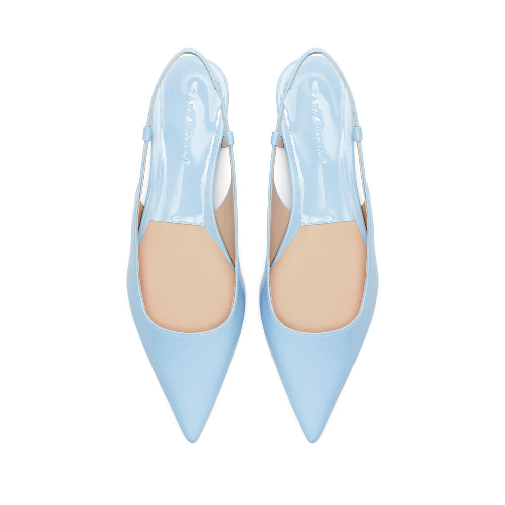 Pointed Flat Sling Back , orig. $89.90, now $49.99
