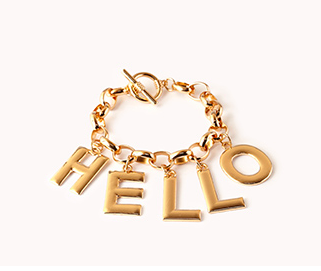 Hello There Bracelet,  $5.80