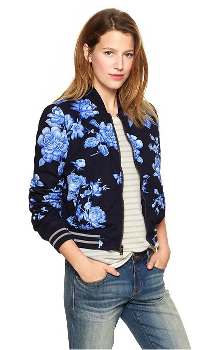 Gap Bomber Jacket available  here