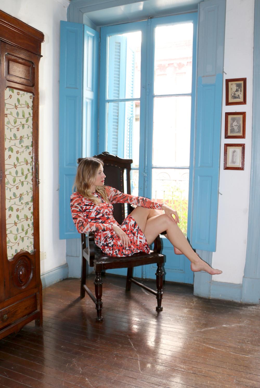 Colourful Print Dress, Karen Millen $340