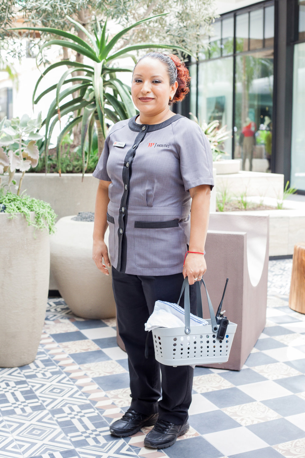 Women's housekeeping uniform