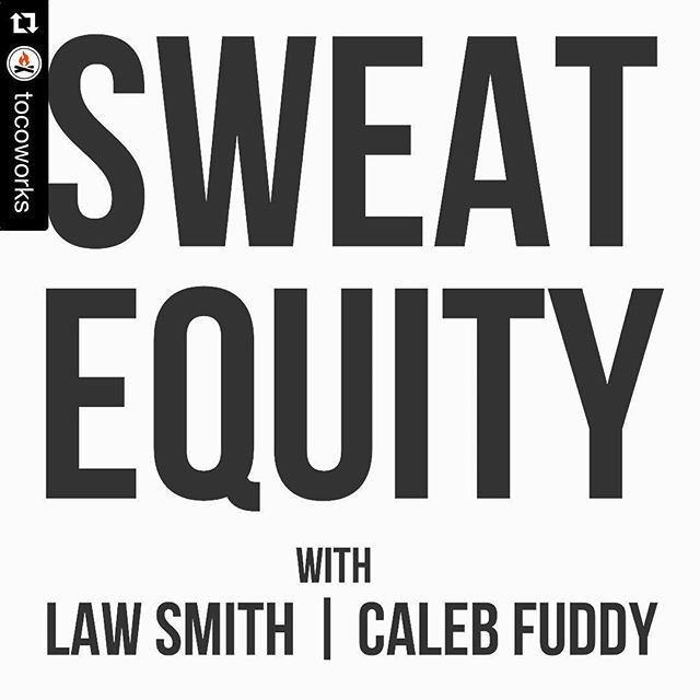 #Repost @tocoworks ・・・ New episode of @sweatequitypodcast w/ @cfuddy & @lawsmiff on iTunes - Pragmatic Advice And Tips On Starting A Brand #tampa #tampabay #lovefl #branding #logo #brandcolors #typekit